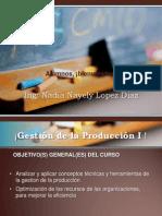 GESTION PRODUCCION