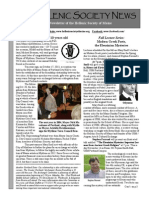 Hellenic Society News, Fall 2013