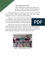 Laporan Majlis Khatam Al-Quran
