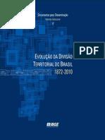 Evolucao Da Divisao Territorial Do Brasil Publicacao Completa