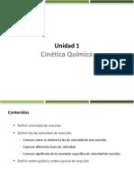Unidad 1 Cinetica Clase 1