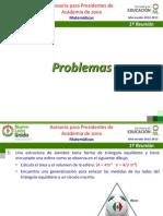 Problemas 1a Reunión 12-13 de Asesoría Académica