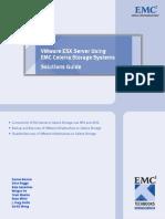 Emc Vmware Esx Server Celerra Storage Systems Solutionguide