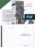 Diario de Un Profesor Novato - Michel Barlow
