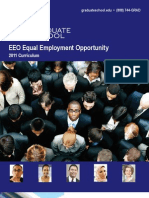 EEO Equal Employment Opportunity 2012 Curriculum Brochure