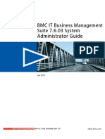 BMC IT Business Management Suite 7.6.03 System Administrator Guide