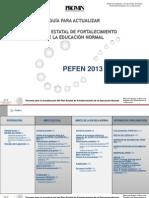 Guia PEFEN 2013 Con Indicadores 12032013