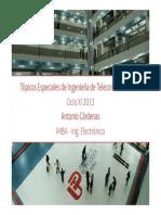 Topicos Especiales de Ingenieria de Telecomunicaciones- Semana 1
