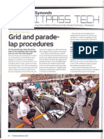 F-1 Grid and Parade Lap Procedures, The Science Behind