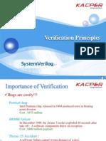 System Verilog Verification basics