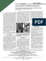 Ricinus Communis Membrane for Orbital Reconstruction