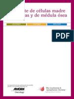 Transplante de Medula Osea Y Celulas Madre