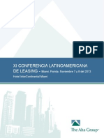 Brochure XI Conferencia de Leasing