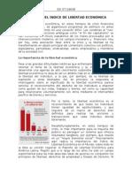 Impacto Del Indice de Libertad Economica y La Prosperidad Economica