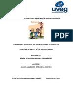 Catalogo de Estrategias Uveg