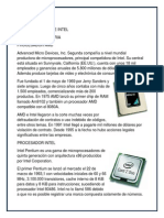 Procesador Amd e Intel
