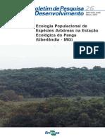 Ecologia Populacional de Especies Arboreas Na Estacao Ecologica Do Panga (Uberlandia MG) (1)