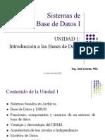 Unidad 1 BDI