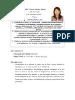 Curriculum Vitae-claudia Almanza
