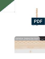 1- Denda Zabaldu Dut - Ikaslearena