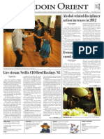 The Bowdoin Orient - Vol. 143, No. 4 - October 4, 2013