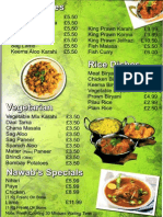 The Nawab Restaurant  Menu3