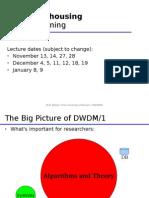 datawarehousing