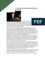 Conmemoran 75 Aniversario del Pentathlón Deportivo Militarizado Universitario