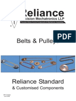 Belts and Pulleys the best choice for engineering