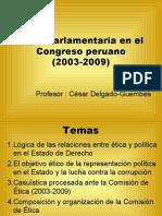 CDG - Proceso de Ética Parlamentaria (PERU)
