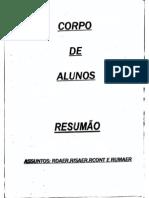 RESUMAO REGULAMENTOS MILITARES - CFS EEAR