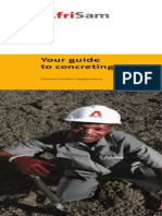 Your Guide to Concreting
