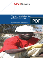 Your Guide to Plastering