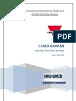 Special Offer-Inductive Proximity Sensors-CarloGavazzi