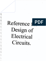 Reference for Design of Electrical Circuits