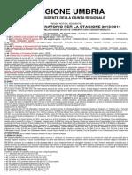 Calendario Venatorio Umbria 2013 2014