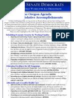 2009 Session Accomplishments