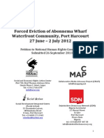 Abonnema Wharf Forced Eviction 2012