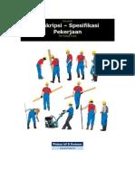 Dokumen Deskripsi Dan Spesifikasi Pekerjaan_format 1