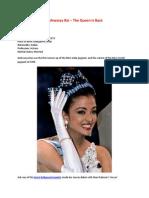 Aishwarya Rai – The Queen Is Back