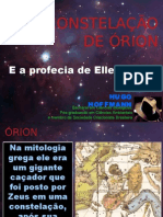 Órion e a profecia de Ellen White