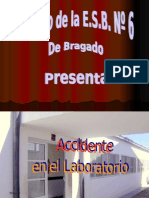 Proyecto Innovador Accidente en el laboratorio