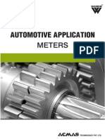 Automotive Application Meters Category