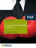 Pour un choc de compétitivité en France