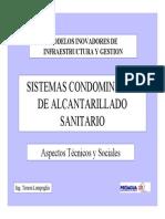Sistemas Condominiales de Alcantarillado Sanitario