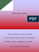 British Music History
