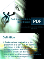 Endotracheal Intubation & ER Board Exam Questions