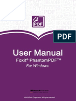 FoxitPhantomPDF60 Manual