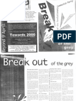 Break Out of the Grey - Election Manifesto of the RCP - 1992