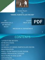 diesel p[articulate filter ppt